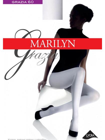 Marilyn Grazia Micro 60 Den цветные женские матовые колготки из микрофибры, без шорт