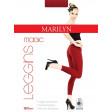 Marilyn Magic 180 Den бесшовные облегающие женские леггинсы (лосины) из микрофибры