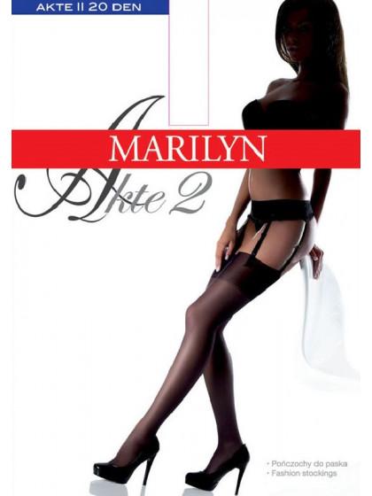 Marilyn Akte 2 тончайшие чулки под пояс