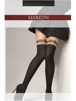Marilyn Zazu Red Lace