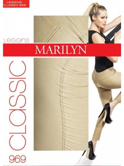 Marilyn Leggins Classic 969 хлопковые леггинсы (лосины) для женщин