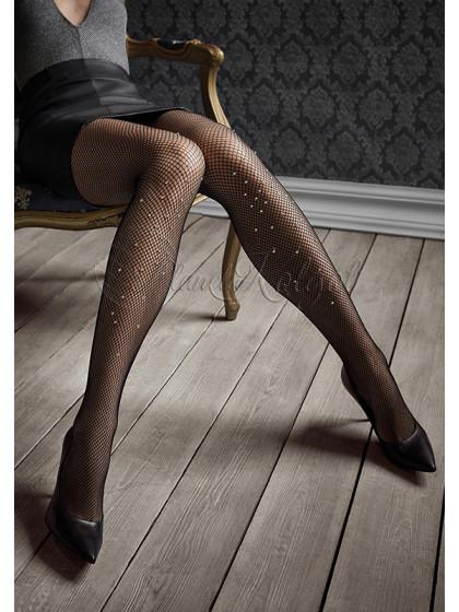 Marilyn Gucci G47 женские сетчатые колготки со стразами