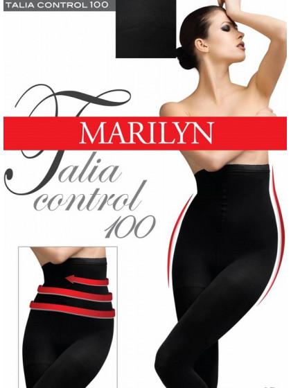 Marilyn Talia Control 100 Den моделирующие колготки для женщин с эффектом велюра