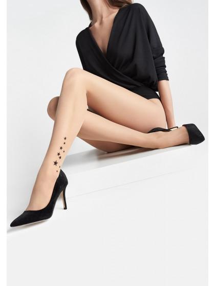 Marilyn Emmy M10 фантазийные женские колготки с имитацией тату