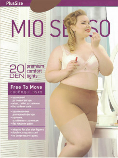 Mio Senso Free To Move 20 Den Plus Size