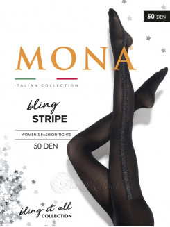 Mona Bling Stripe 50 Den