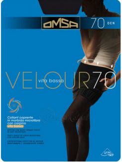Omsa Velour 70 Den Vita Bassa