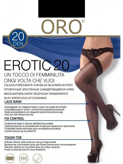 ORO Erotic 20 Den Calze тонкие классические чулки
