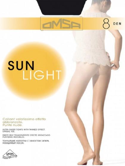 Omsa Sun Light 8 Den тончайшие летние колготки