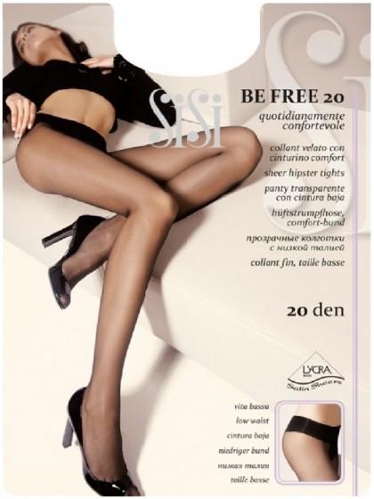 Sisi Be Free 20 Den Vita Bassa колготки на низкой талии