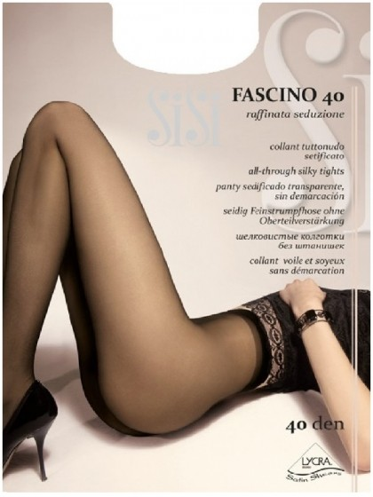 Sisi Fascino 40 Den классические колготки без шорт
