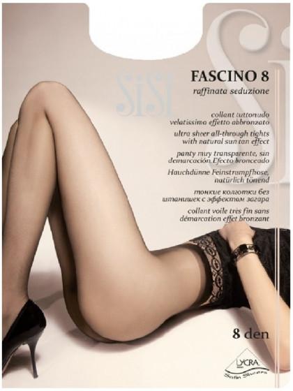 Sisi Fascino 8 Den тончайшие летние колготки без шорт