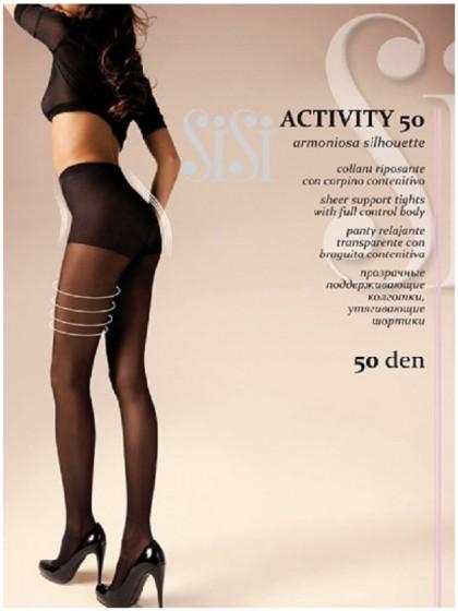 Sisi Activity 50 Den поддерживающие женские колготки с утяжкой