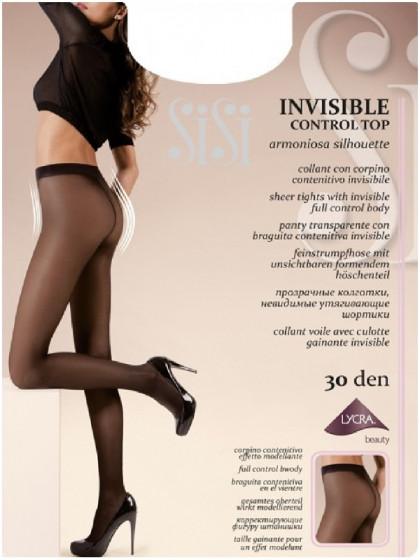 Sisi Invisible Control Top 30 Den колготки с невидимой утяжкой