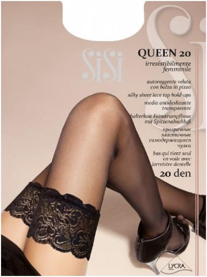 Sisi Queen 20 Den тонкие женские чулки