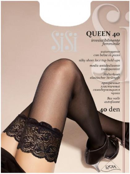 Sisi Queen 40 Den женские классические чулки средней плотности