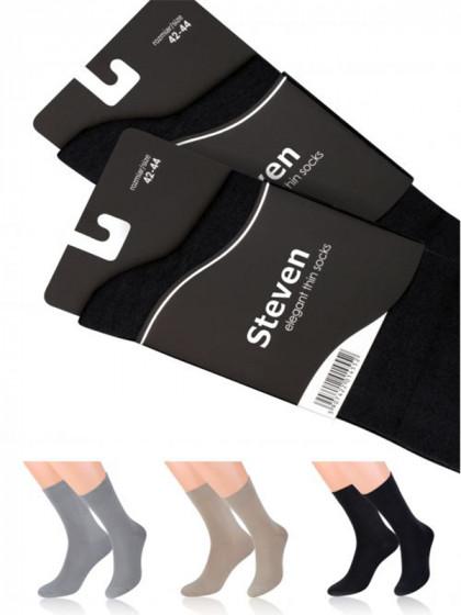 Steven Art Model 107 тонкие классические мужские носки
