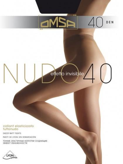 Omsa Nudo 40 Den классические колготки без шорт