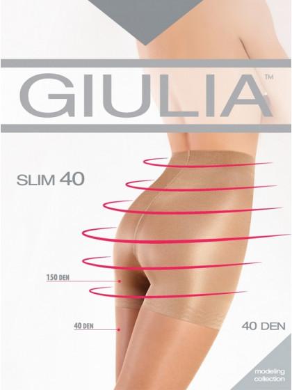 Giulia Slim 40 Den моделирующие колготки средней плотности