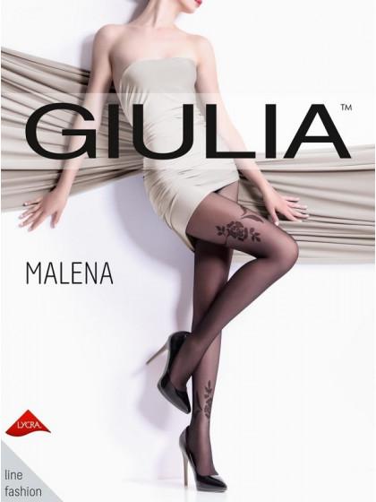 Giulia Malena 20 Den Model 1 тонкие колготки с имитацией тату