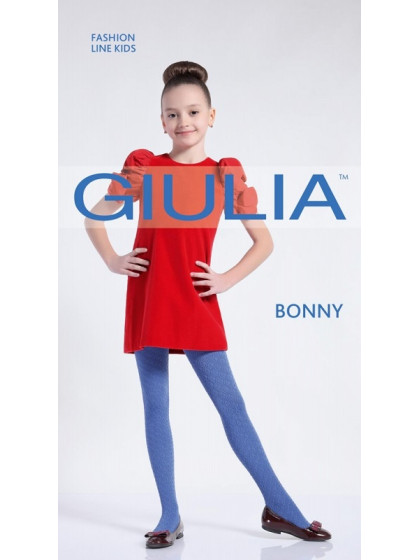 Giulia Bonny 80 Den Model 10 детские колготки с геометрическим рисунком