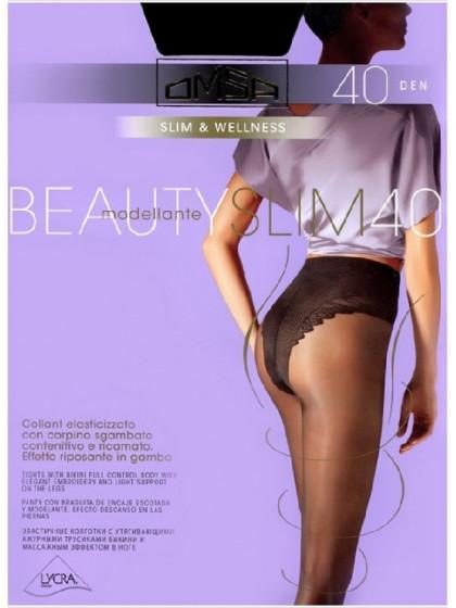 Omsa Beauty Slim 40 Den корректирующие колготки средней плотности
