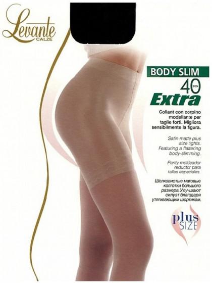 Levante Body Slim 40 Den Extra корректирующие колготки большого размера