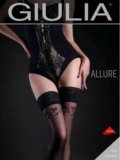 Giulia Allure 20 Den Model 12 тонкие фантазийные чулки