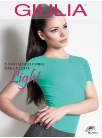 Giulia T-Shirt Scollo Tondo Manica Corta Light