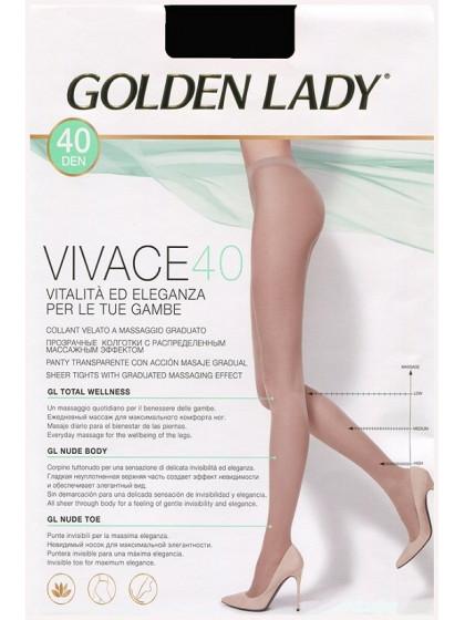 Golden Lady Vivace 40 Den классические колготки без шорт
