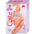 Conte Tension 40 Den женские капроновые гольфы средней плотности