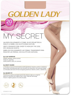 Golden Lady My Secret 20 Den