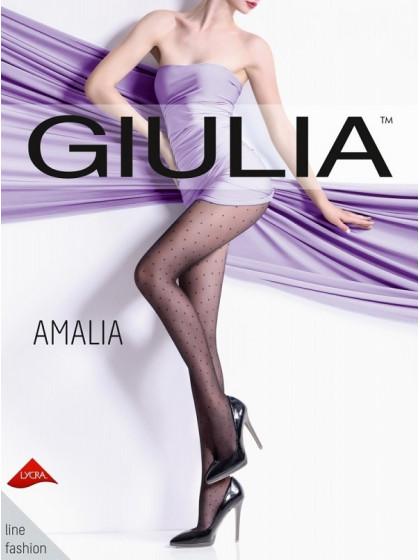 Giulia Amalia 20 Den Model 1 фантазийные колготки в мелкий горох