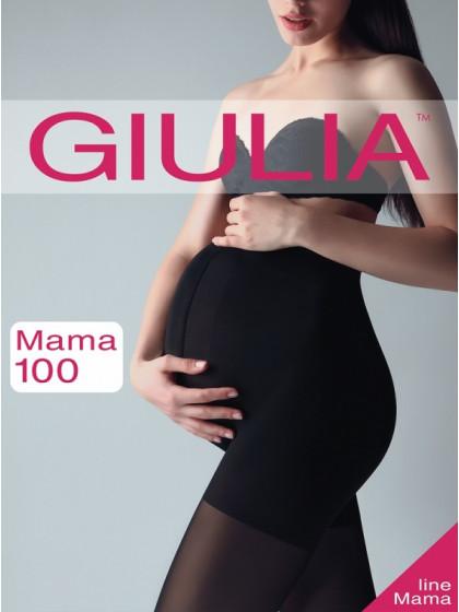 Giulia Mama 100 Den теплые колготки для беременных