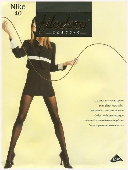 Filodoro Nike 40 Den (Ninfa 40 Den) классические колготки без шорт