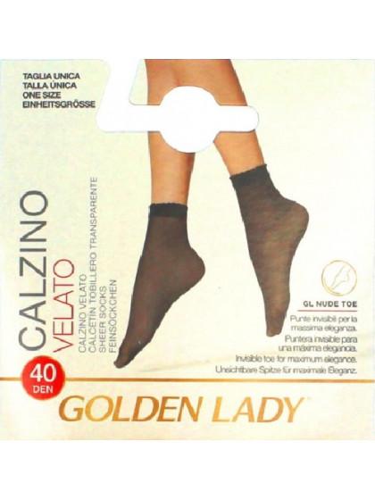 Golden Lady Velato 40 Den Calzino эластичные носки средней плотности