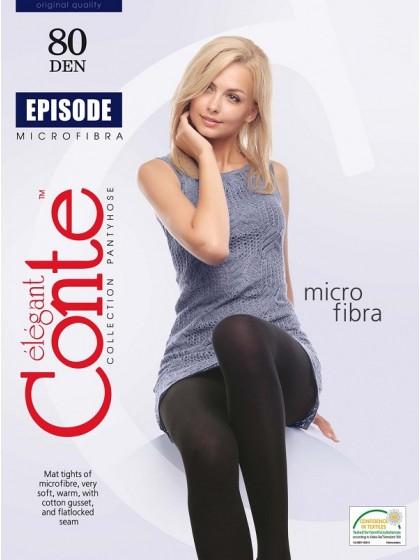Conte Episode 80 Den женские матовые классические колготки из микрофибры