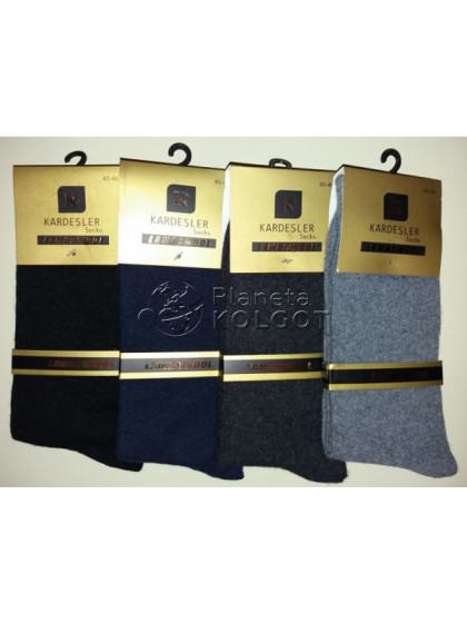 Kardesler 001 мужские шерстяные высокие носки