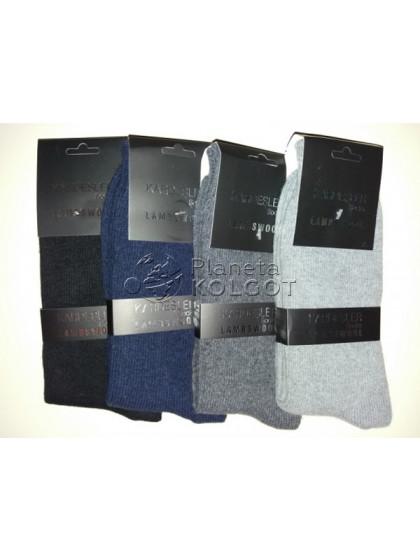 Kardesler 002 мужские зимние шерстяные носки