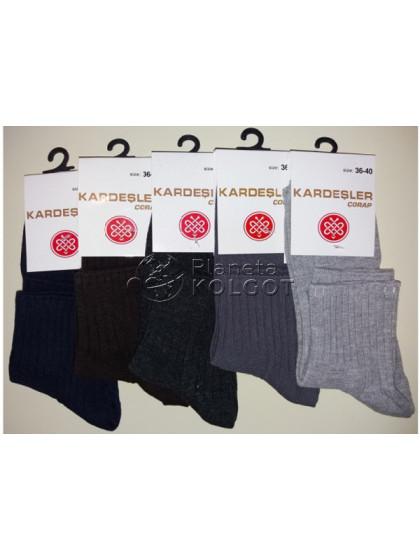 Kardesler 032 женские хлопковые классические носки