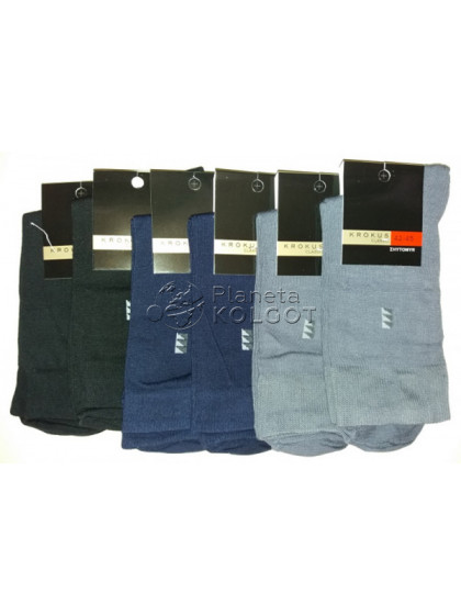 Krokus 031 мужские высокие хлопковые носки