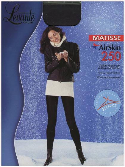 Levante Matisse AirSkin 250 Den теплые колготки из микрофибры