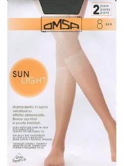 Omsa Sun Light 8 Den Gambaletto