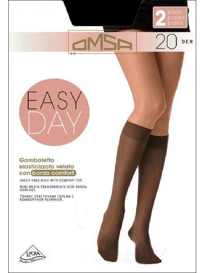 Omsa Easy Day 20 Den Gambaletto тонкие капроновые гольфы