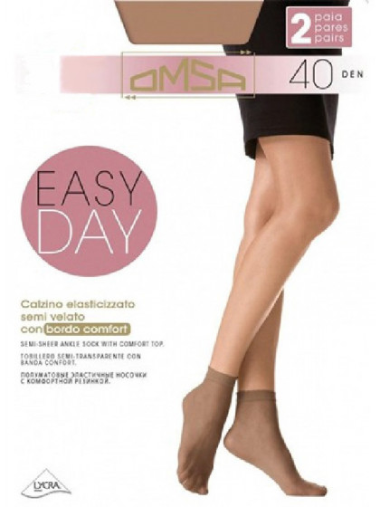 Omsa Easy Day 40 Den Calzino женские капроновые носки