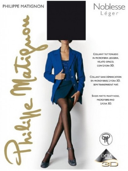 Philippe Matignon Noblesse Leger 15 Den тончайшие женские колготки из микрофибры