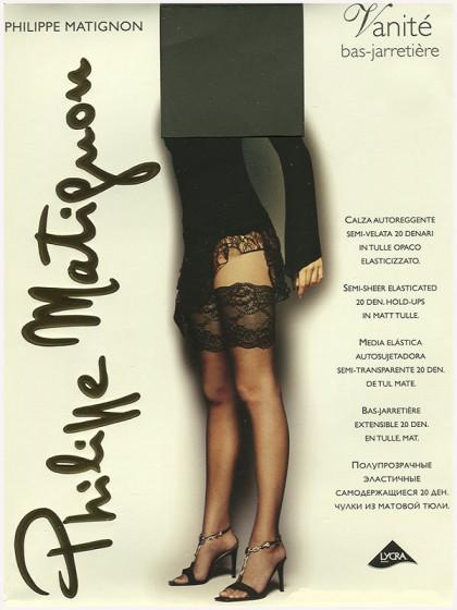 Philippe Matignon Vanite Bas-Jarretiere сетчатые женские чулки