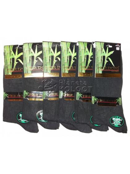 Pier Doni 032 мужские стрейчевые бамбуковые носки