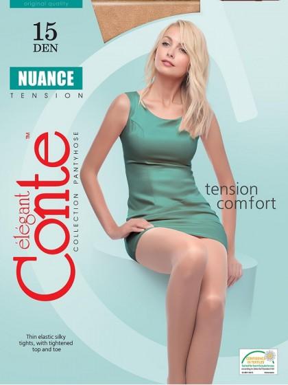Conte Nuance 15 Den классические тонкие колготки с шортиками