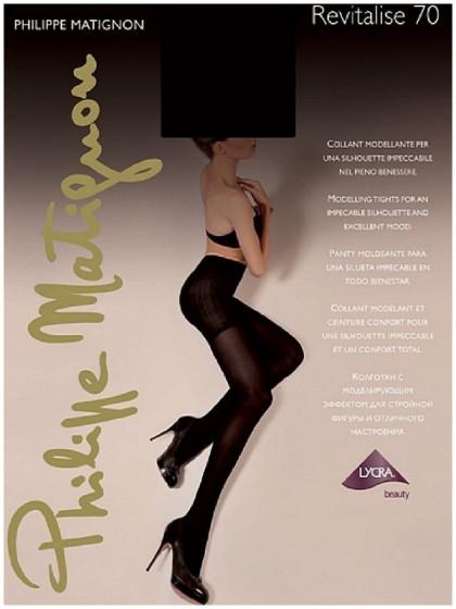 Philippe Matignon Revitalise 70 Den женские колготки с моделирующими шортиками
